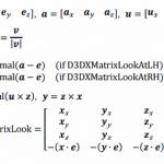 DirectXとOpenGLのビュートランスフォーム行列の違い